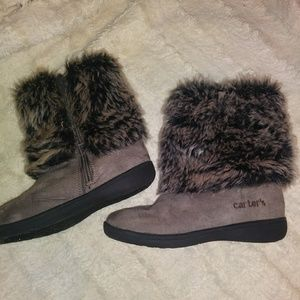 Carter's Girl's Winter Fur Boots